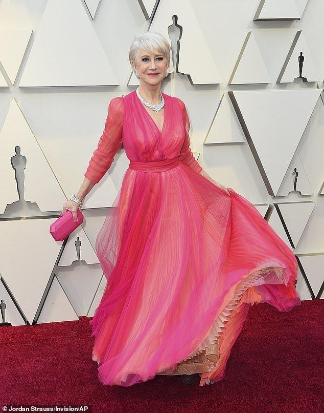 Helen Mirren at 2019 Oscars