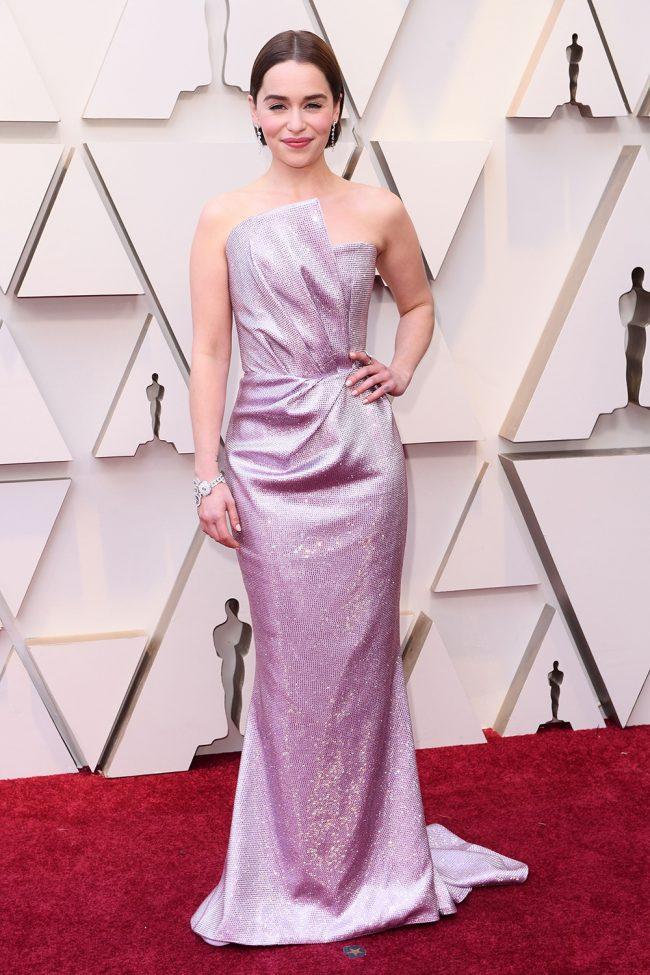 Emilia Clarke at 2019 Oscars
