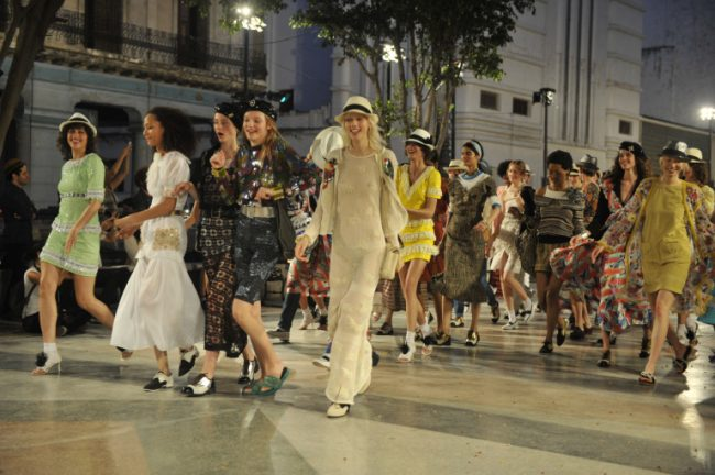 Chanel Resort 2017 in Havana, Cuba.
