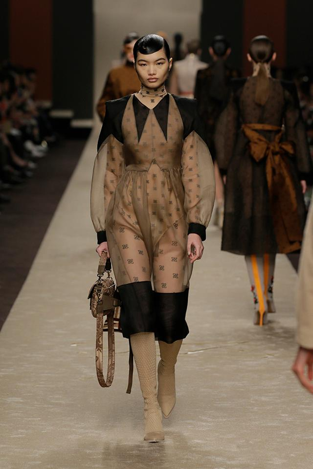 Fendi Milan Fashion Week Fall 2019 Collection