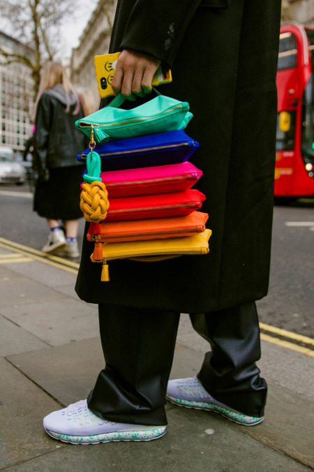 Style from the streets of London Fashion Week Fall 2019