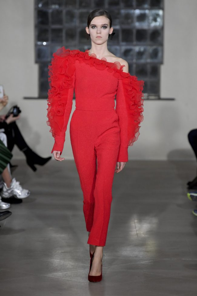 David Koma RTW Fall 2019 London Fashion Week