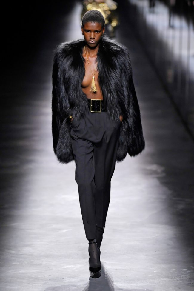 Saint Laurent RTW Fall 2019 new York Fashion Week