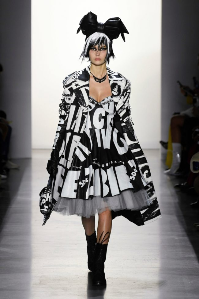 Jeremy Scott RTW Fall 2019 Milan Fashion Week