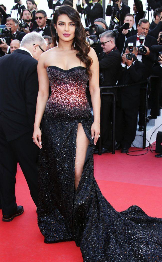 Priyanka Chopra does it again in Roberto Cavalli at 2019 Cannes Film Festival