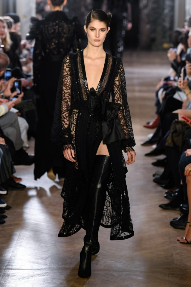 Elie Saab RTW Fall 2019 Paris Fashion Week