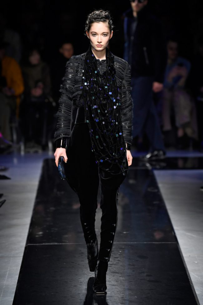 Giorgio Armani RTW Fall 2019 Milan Fashion Week