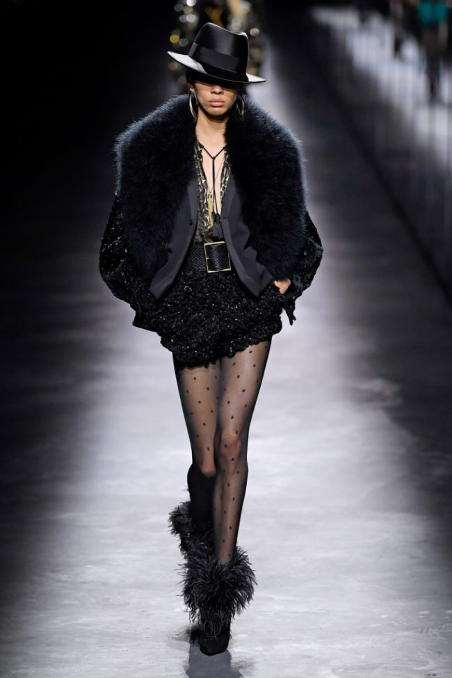 Saint Laurent RTW Fall 2019 Paris Fashion Week