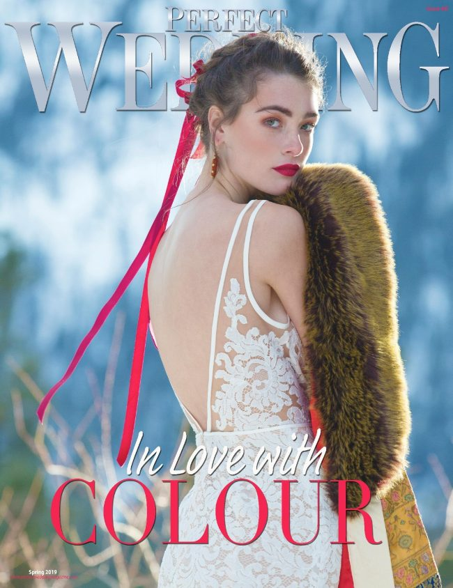 Wedding trends in fur are a popular go-to for brides of all ages