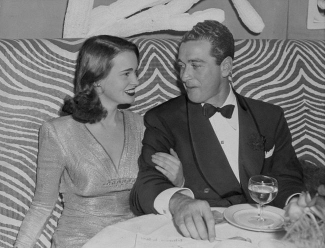 1941- Gloria Vanderbilt and her first husband, Pat de Cicco