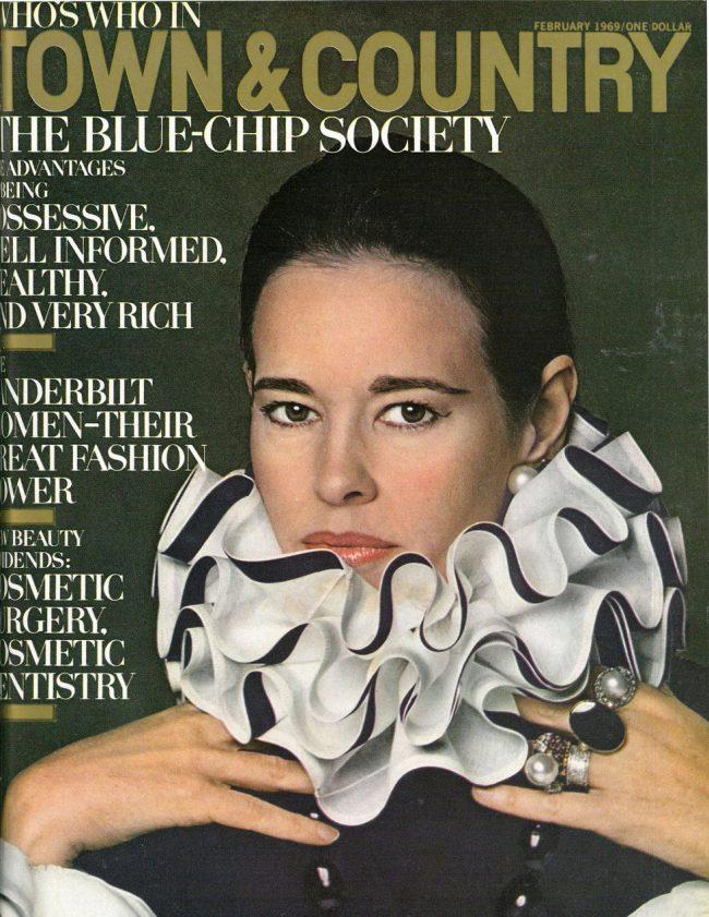 Vanderbilt on the cover of T&C in February 1969