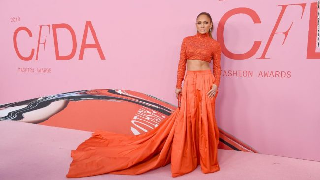 2019 CFDA Awards Jennifer Lopez
