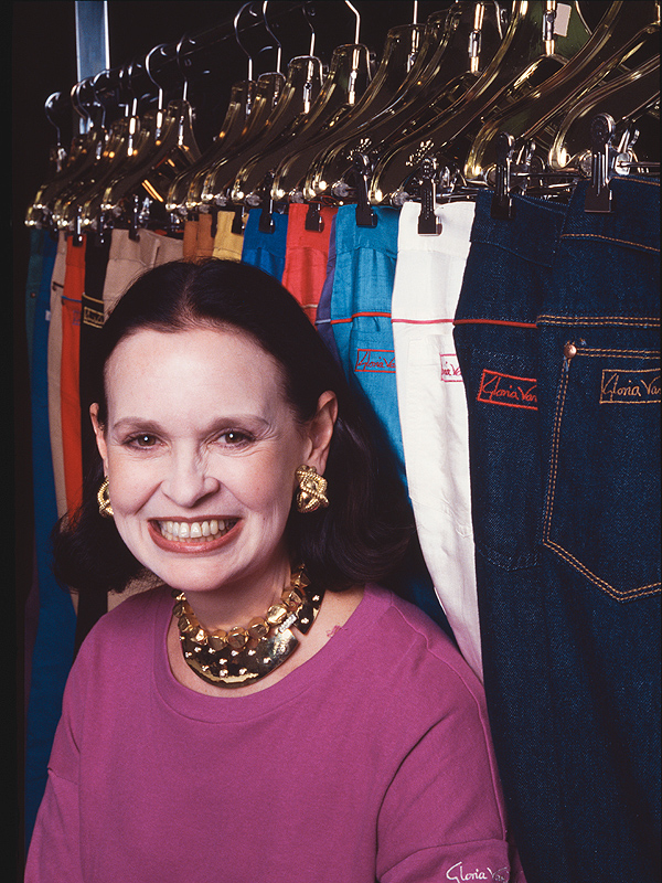 "Gloria Vanderbilt was known as the ""Jeans Queen"""