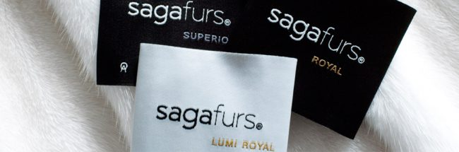 Labels under the Saga Furs brand
