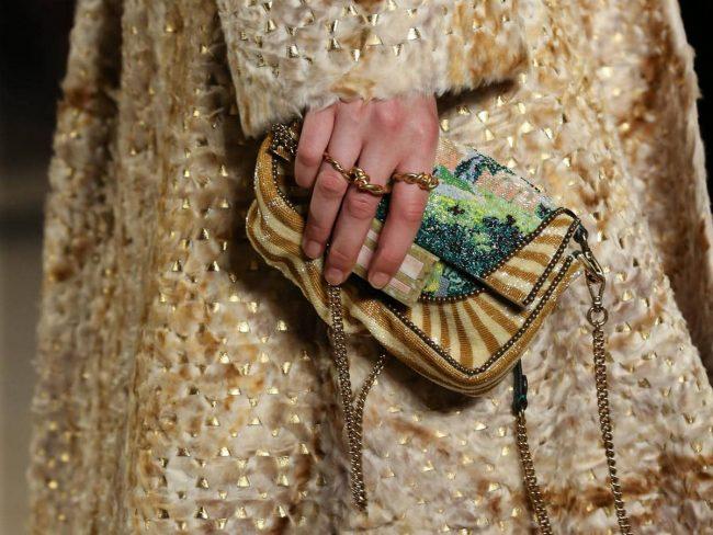 Fendi Fall 2019 Haute Couture Accessories
