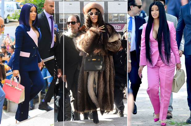 Cardi B 's questionable courtroom style has been the source of many headlines recently