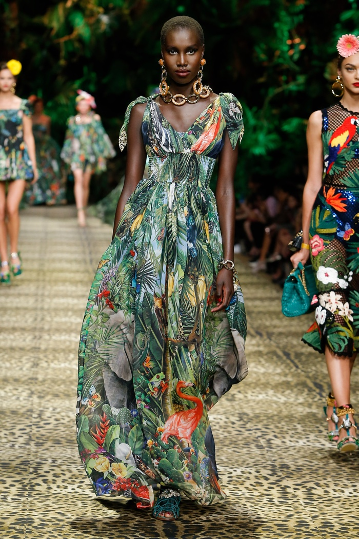 Dolce and Gabbana Spring Summer 2020 Milan Fashion Week
