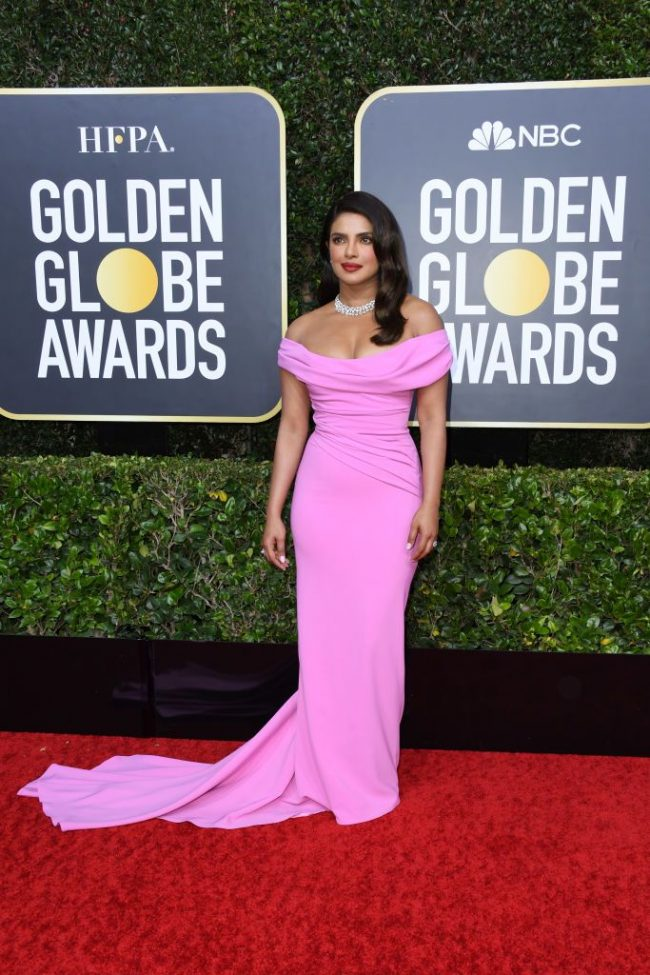 Priyanka Chopra-Jonas stuns in Cristina Ottaviano at 2020 Golden Globes