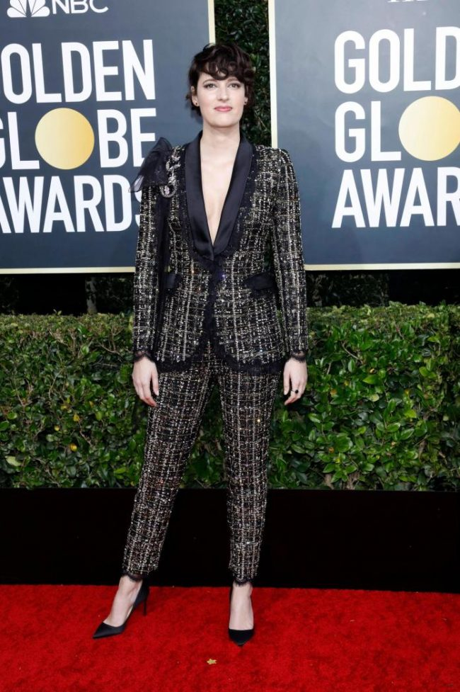Phoebe Waller Bridge in Ralph and Russo was a B-O-S-S bitch at 2020 Golden Globes