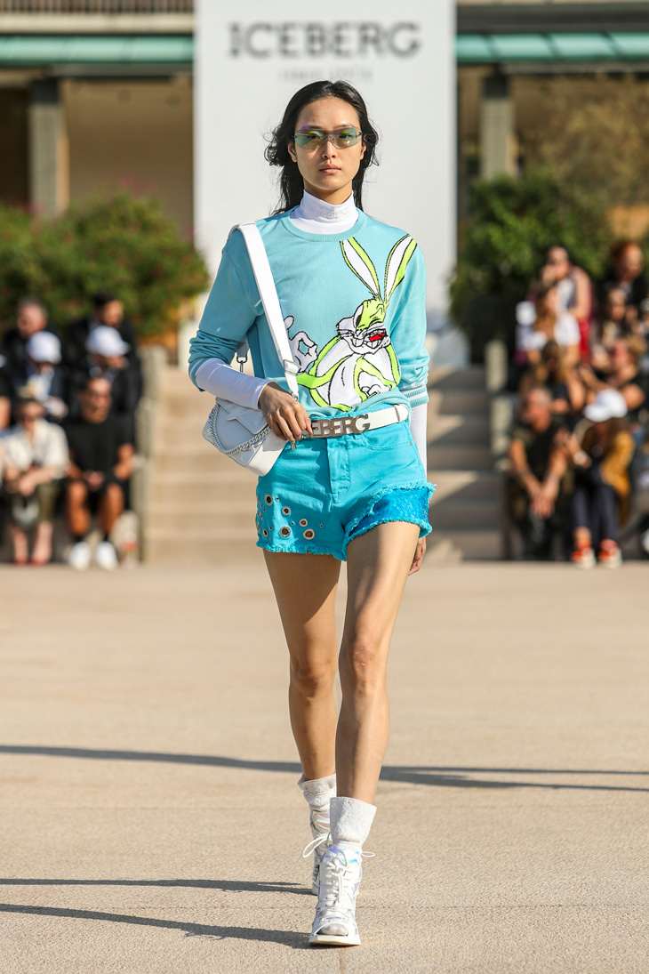 ICEBERG RTW Spring Summer 2020 Milan Fashion Week