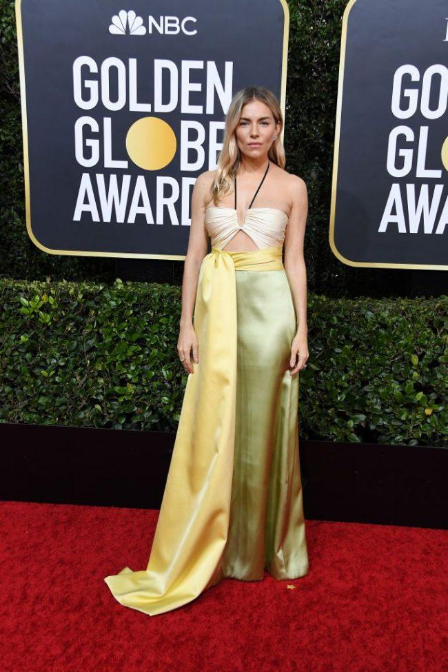Sienna miller 2020 Golden Globes