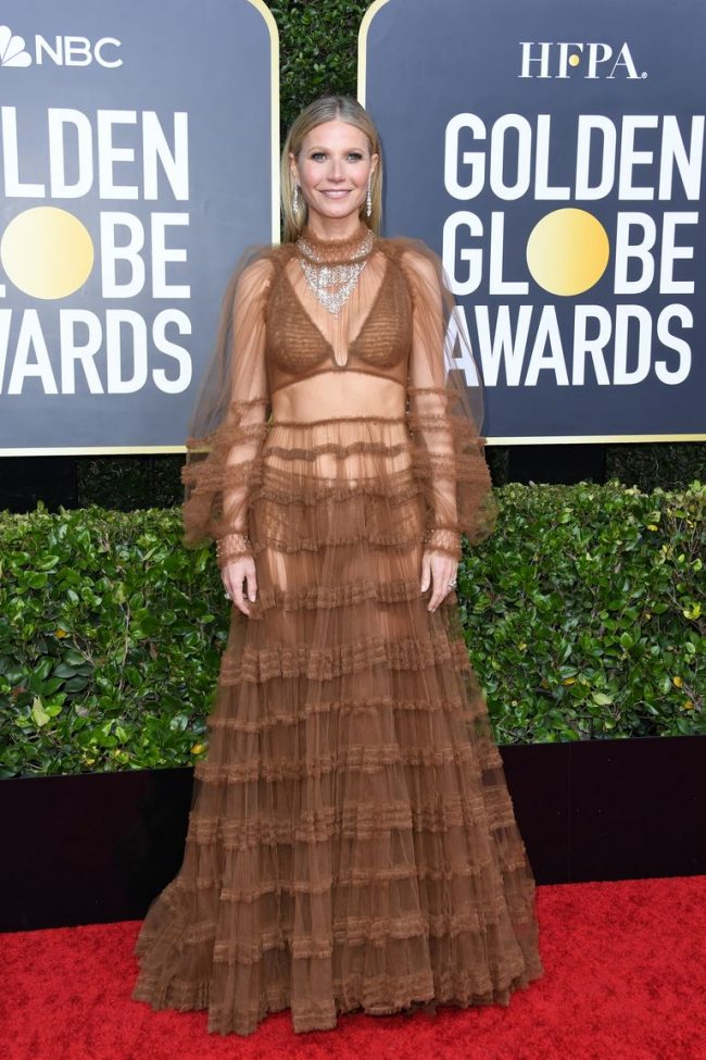 Gwyneth Paltrow looked in the mirror and said this Fendi 2020 Golden Globes