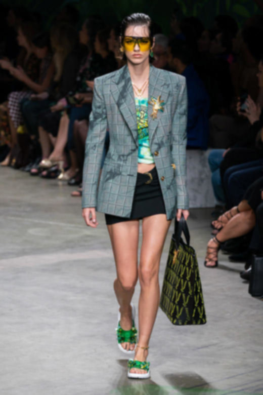 Versace RTW Spring Summer 2020 Milan Fashion Week