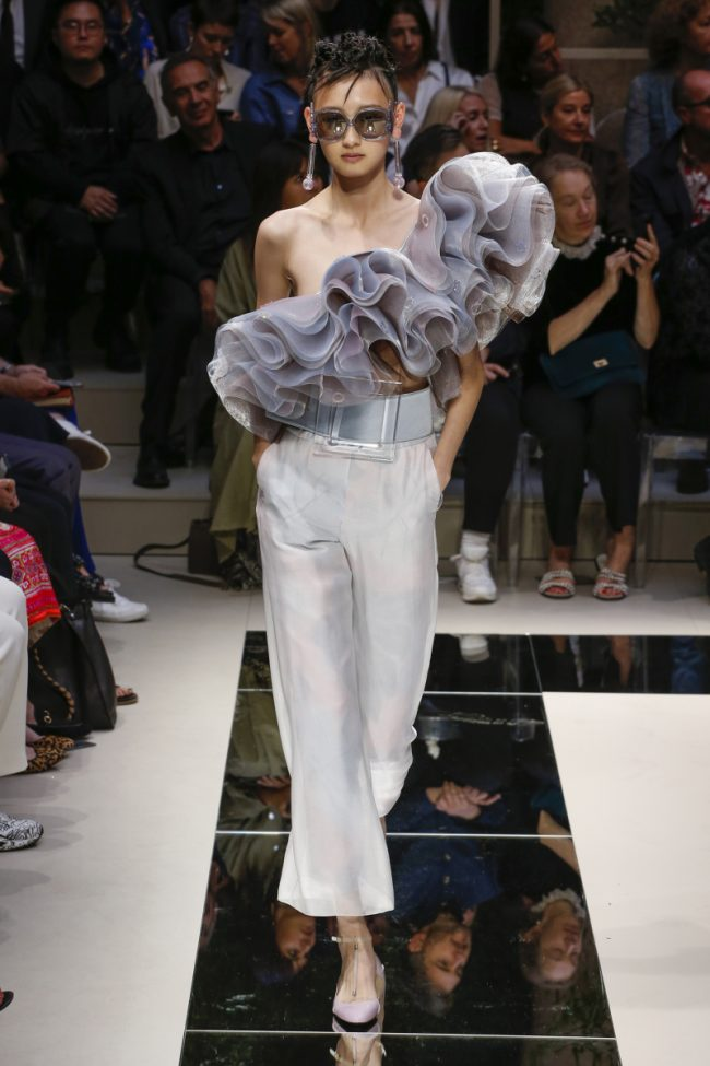 Giorgio Armani RTW Milan Fashion Week Spring Summer 2020