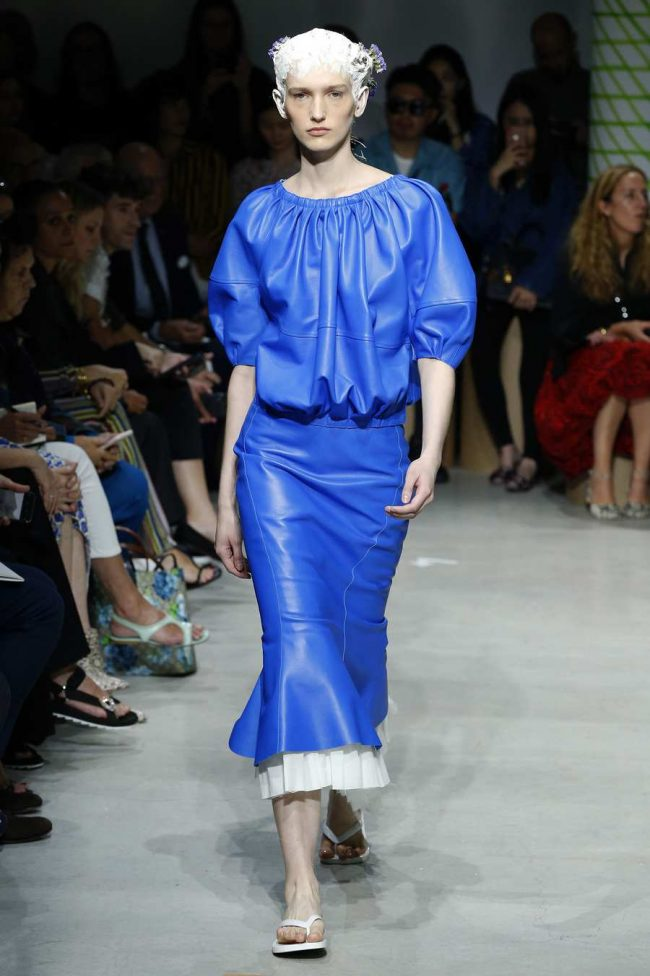 Marni Spring 2020 Calming Blues Trends