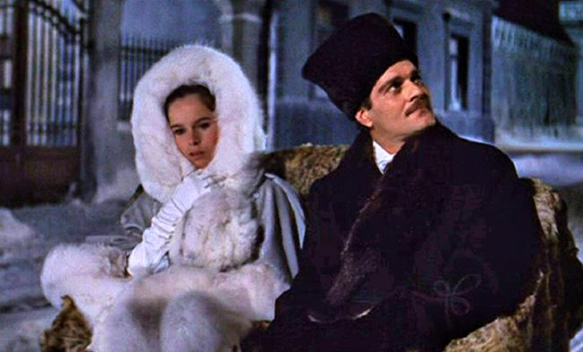 Scenes from the 1965 classic Dr. Zhivago starring the late great Omar Sharif furs of film